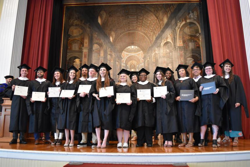 IOMP Cohort 4 at the Graduation Ceremony