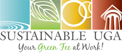 Sustainable UGA Square Full Logo